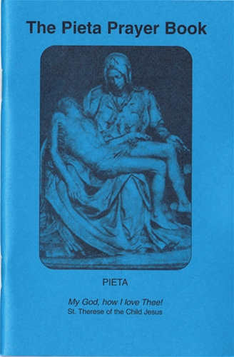 Pieta Prayer Book (English, small)