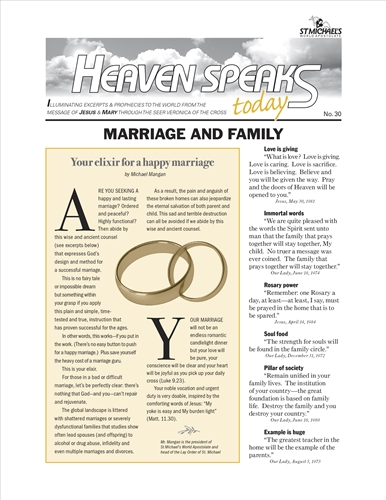 Marriage and Family, HST 30
